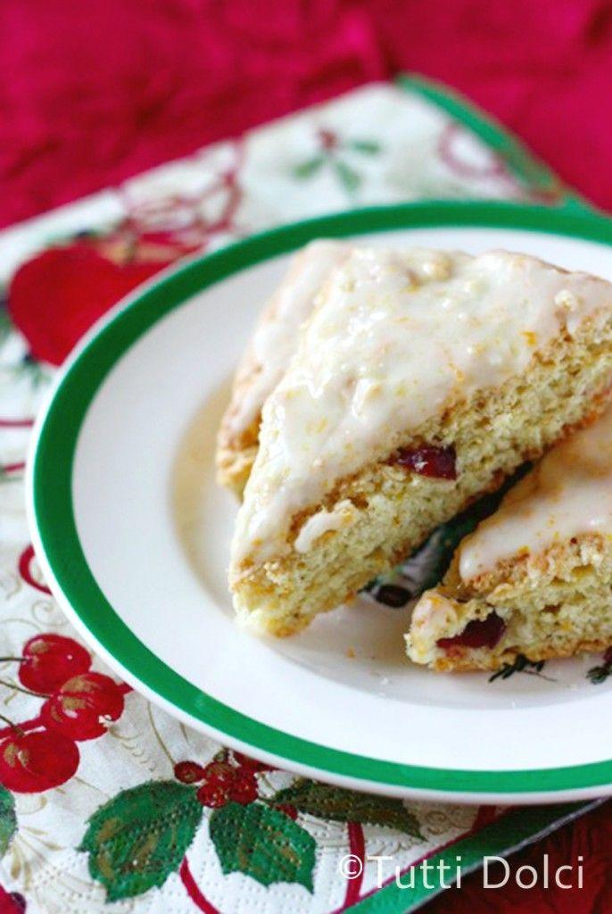 mini cranberry orange scones christmas scones christmas tea orange ...