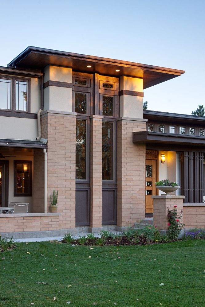 8 Best Prairie Style Residence Images On Pinterest