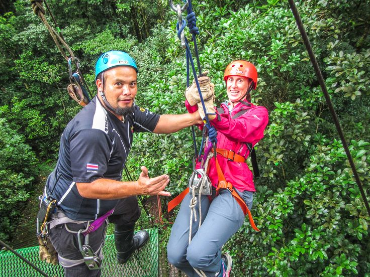 {Blog post} Flying through the Costa Rican cloud forest was amazing!