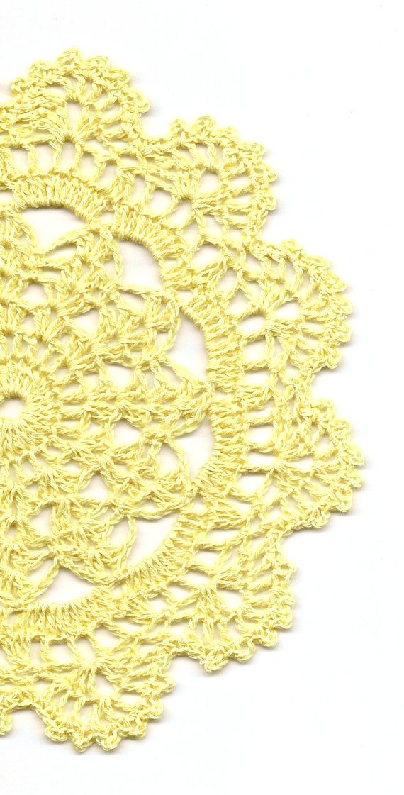 Eco Friendly Crochet Doily Lace Doilies Elegant Linen Table