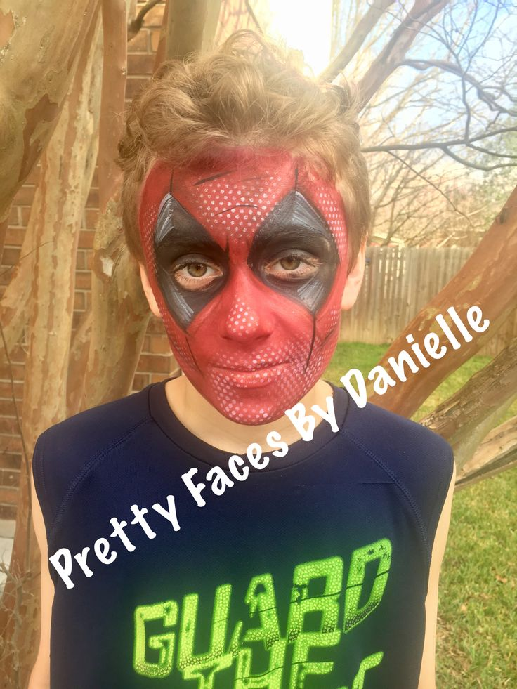 Deadpool Face Paint https://pagez.com/4136/36-rickdiculous-rick-and-morty-facts