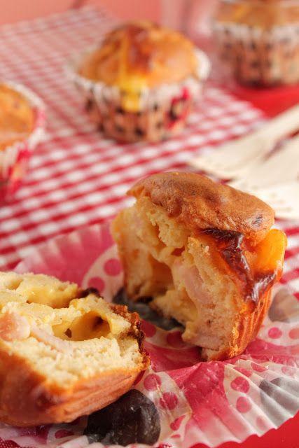 Ιδέα για ταπεράκι: Μάφινς με παριζάκι και τυρί - The one with all the tastes