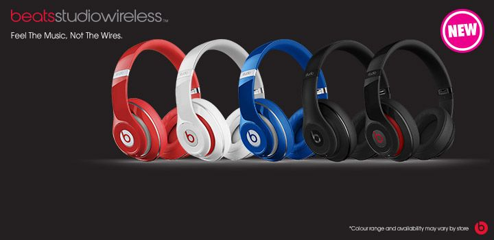 Get into the groove with the new Beats Studio Wireless Headphones at The Good Guys! #BeatsByDre #TheGoodGuys