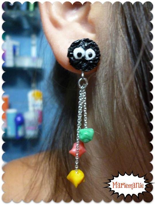 Susuwatari earrings