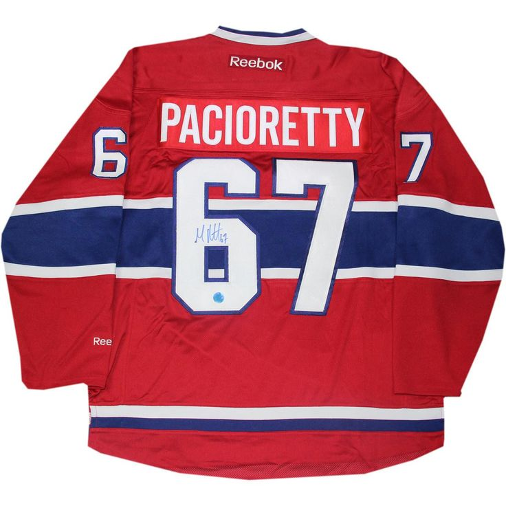 Max Pacioretty Montreal Canadiens Signed Reebok Premier Hockey Jersey (AJ Sports)