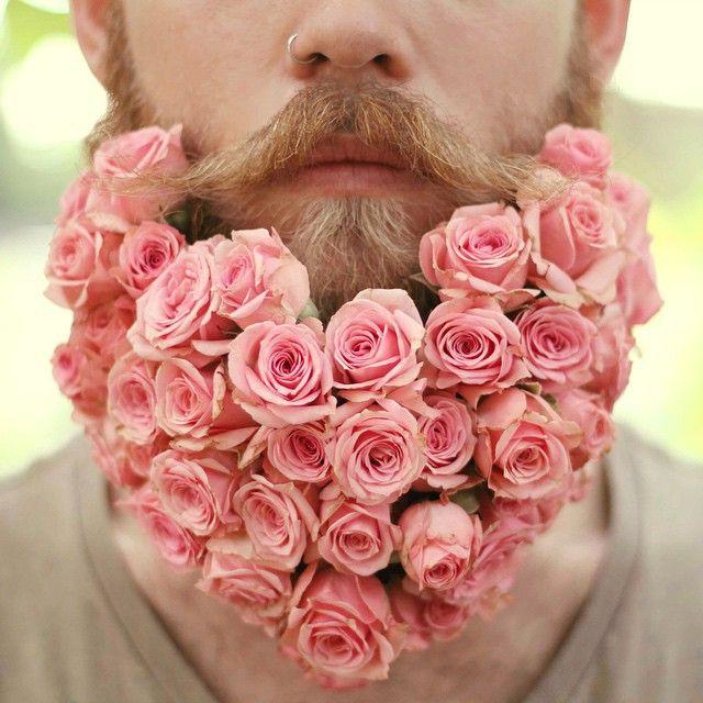 des barbes fleuries pour célébrer l'arrivée du printemps - http://www.2tout2rien.fr/des-barbes-fleuries-pour-celebrer-larrivee-du-printemps/