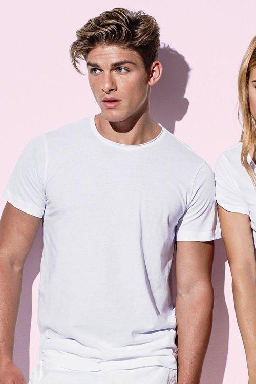 Tricou de bărbați Morgan Stedman din 100% bumbac ring spun #imprimare #tricouri #stedman #personalizare