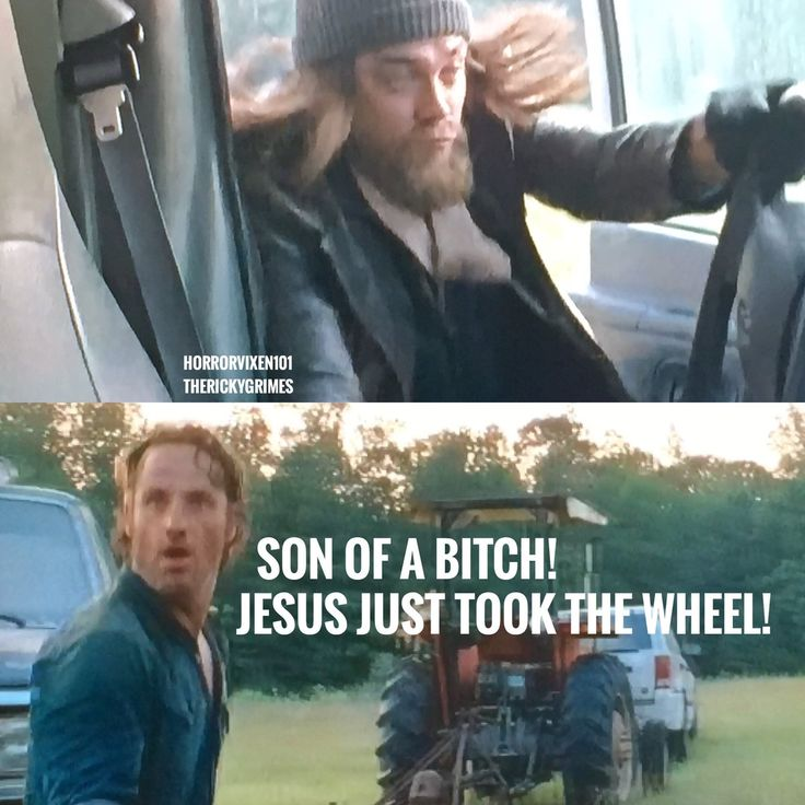 Rick Grimes (@TheRickyGrimes) | Twitter Jesus, took the wheel