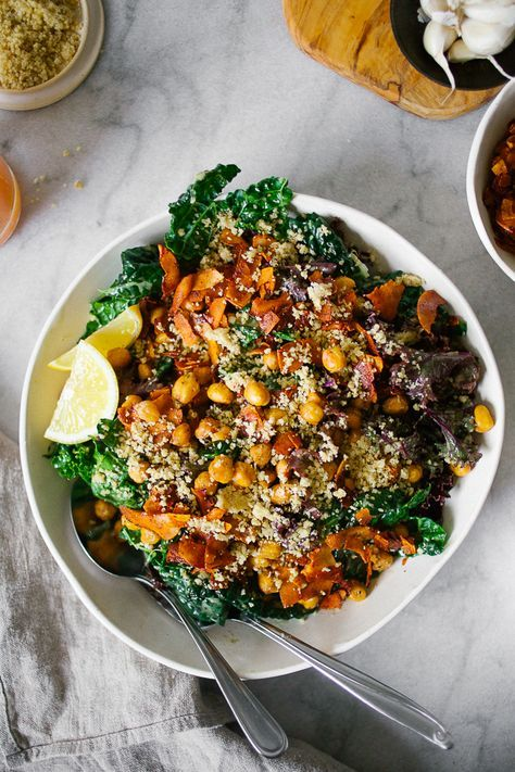 Wholehearted Eats : The Ultimate Vegan Kale Caesar
