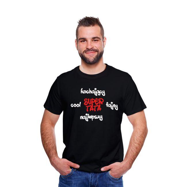 T-shirt męski z nadrukiem Dzień Taty 8