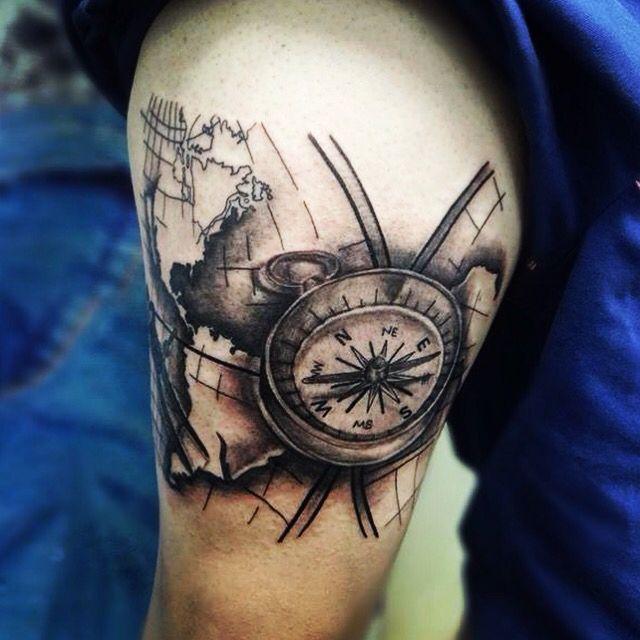 br jula mapa cartograf a tattoo angelstattoo inkblack tatuaje tattoos pinterest. Black Bedroom Furniture Sets. Home Design Ideas