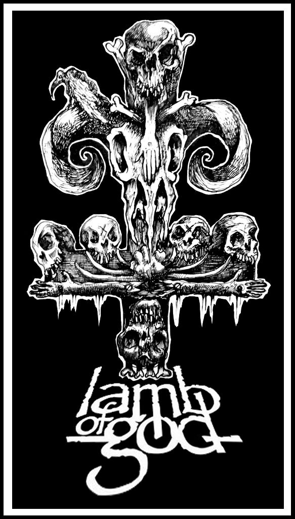 Daryl hobson artwork lamb of god fan artworks