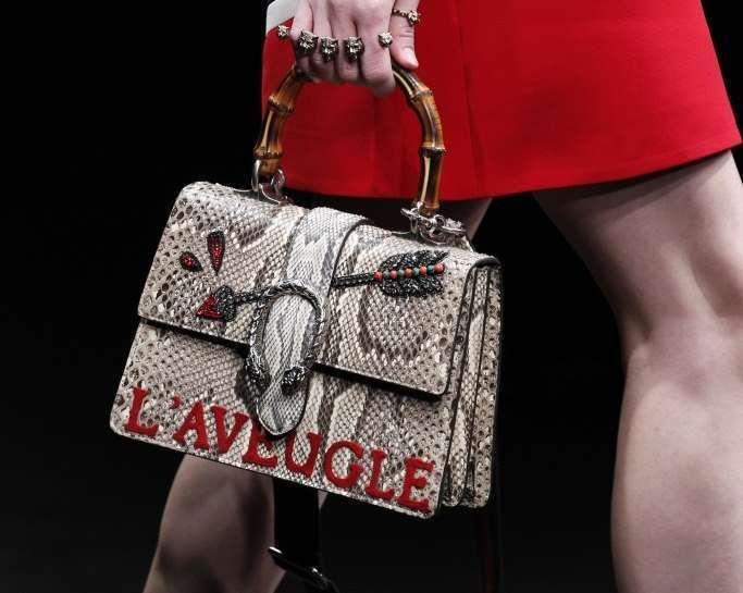 Borse Gucci Autunno-Inverno 2016-2017 - Handbag in pelle di pitone Gucci
