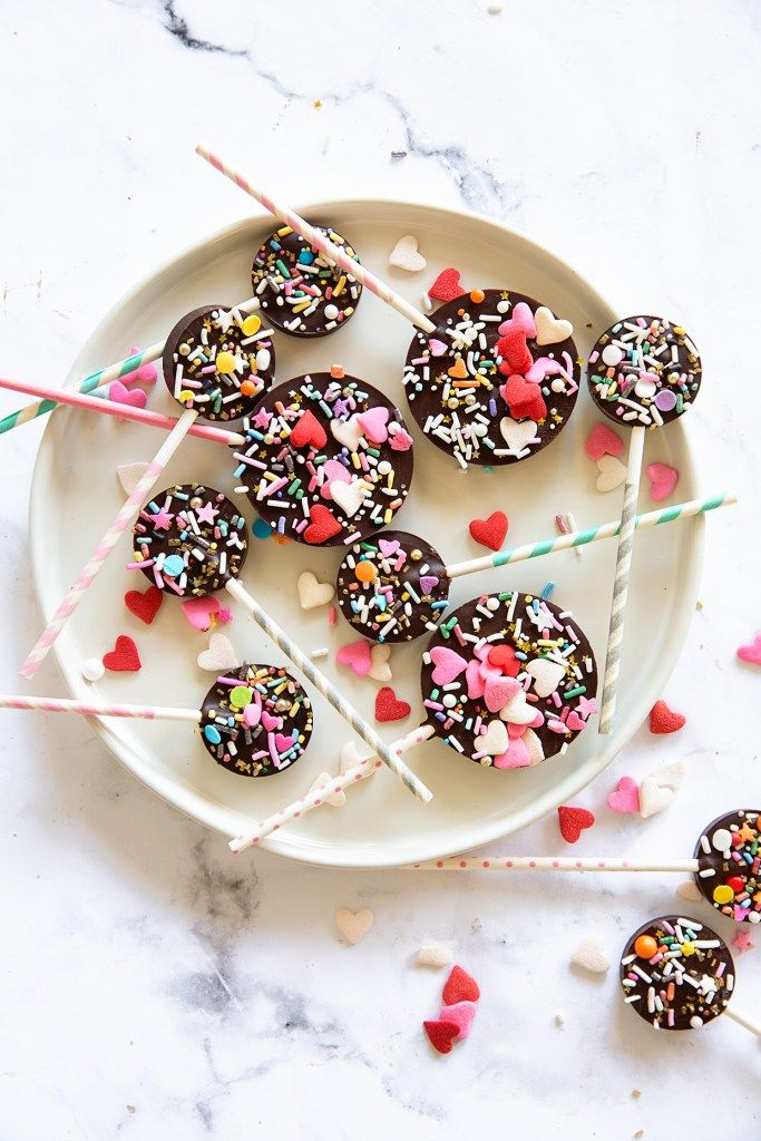 Valentine S Chocolate Pops Recipe Candy Is Dandy And Such A