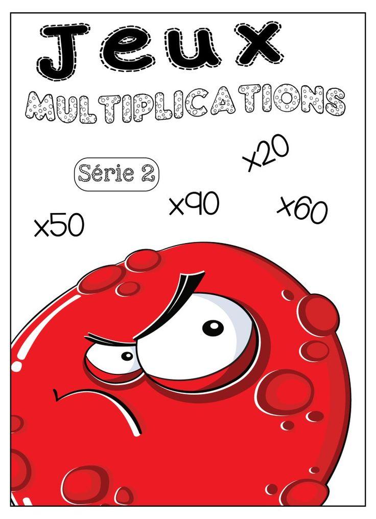 Jeux tables de multiplication Jeux à imprimer et télécharger. SERIE 2. …