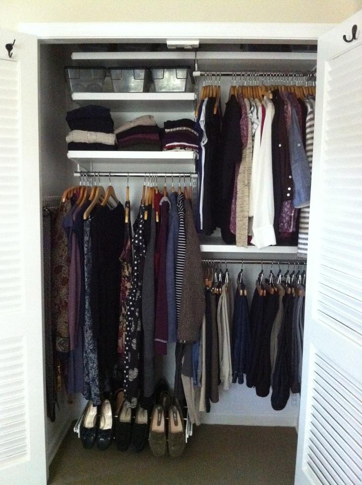 Elfa Closet Organizer Home Pinterest