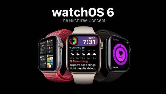 "Un interessante ""concept"" di watchOS 6 Apple watch apps"