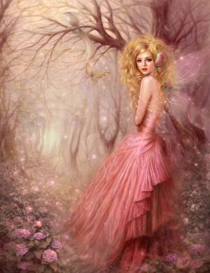 PrettyFairies Dust, Pink Fairies, Magic, Fairies Painting, Fantasy Art, Beautiful, Ruox Zhang, Angels, Fairies Tales