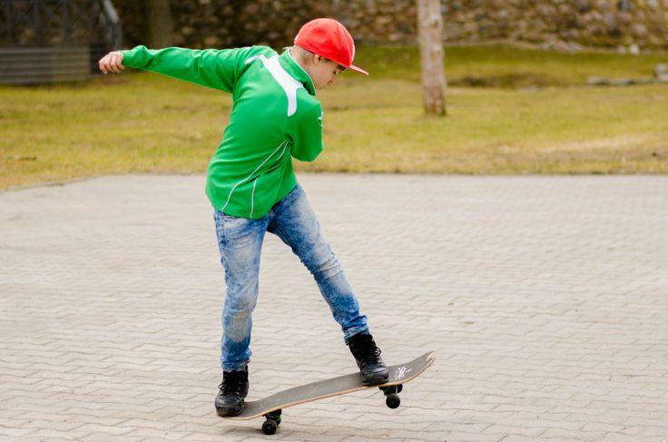 Street skater #Skate #Human #People #Valmiera #Latvia #Nikon #D5100