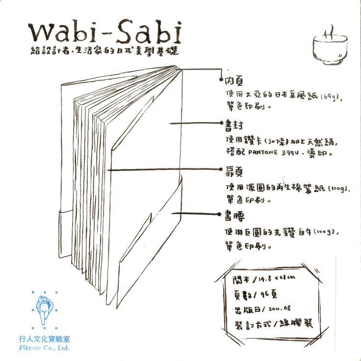 《Wabi-Sabi:給設計者、生活家的日式美學基礎》(Wabi-Sabi: for Artists, Designers, Poets & Philosophers) http://www.books.com.tw/products/0010513594