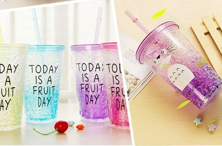New Arrival Summer  ice cup glass suction cup adult students readily cup lemon cup creative