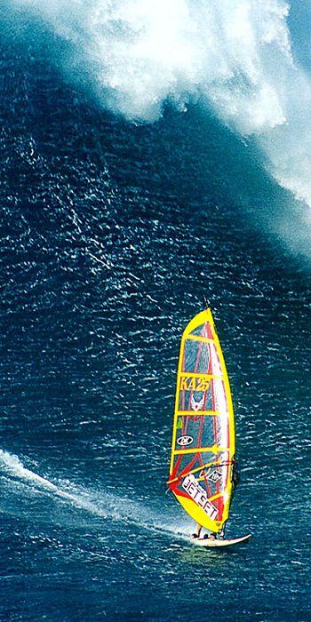 Big wave!