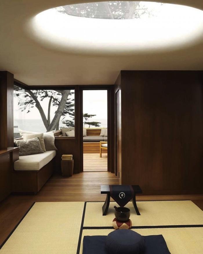 Meditation Room Wood House In Carmel