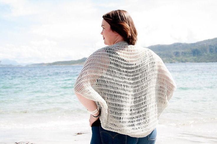 Laxus Cocoon Cardigan Crochet Pattern★ Crochet pattern for the Laxus Cocoon Cardigan, a woman's cocoon sweater.★ Perfect to use & make during those warmer months!★ One-Size.★ Skill level: Beginner★ Language: English / US crochet terms.The Laxus Cocoon Cardigan crochet pattern makes an beginner friendly & relaxed cover up. Consequently it can be made quickly & are perfect for spring & summer. You'll easily stitch it up in just a few days, because you don't need to do dif...