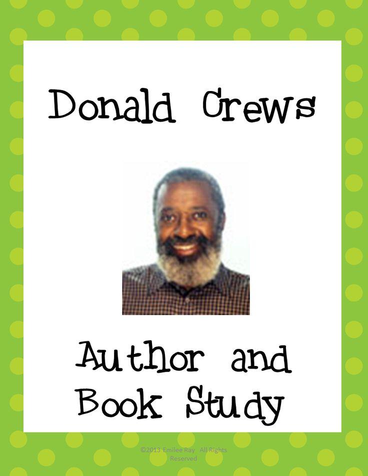Author Study - Donald Crews - YouTube