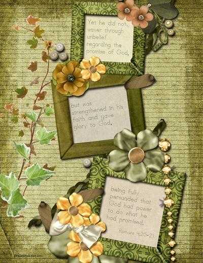 Free Printable Bible Verses for Handwriting (cursive & print)