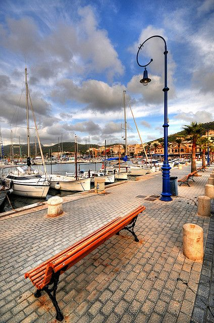 *SPAIN ~ Andratx harbour. Mallorca
