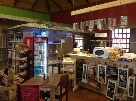 Great layout ! Interesting gifts, eats & lovely inside and outside seating. The owner is a food Wizz!