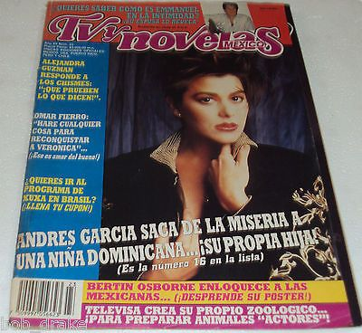 '90 Tvynovelas Mag Alejandra Guzman Bertin Osborne Cindy Crawford Ad Helena Rojo | eBay