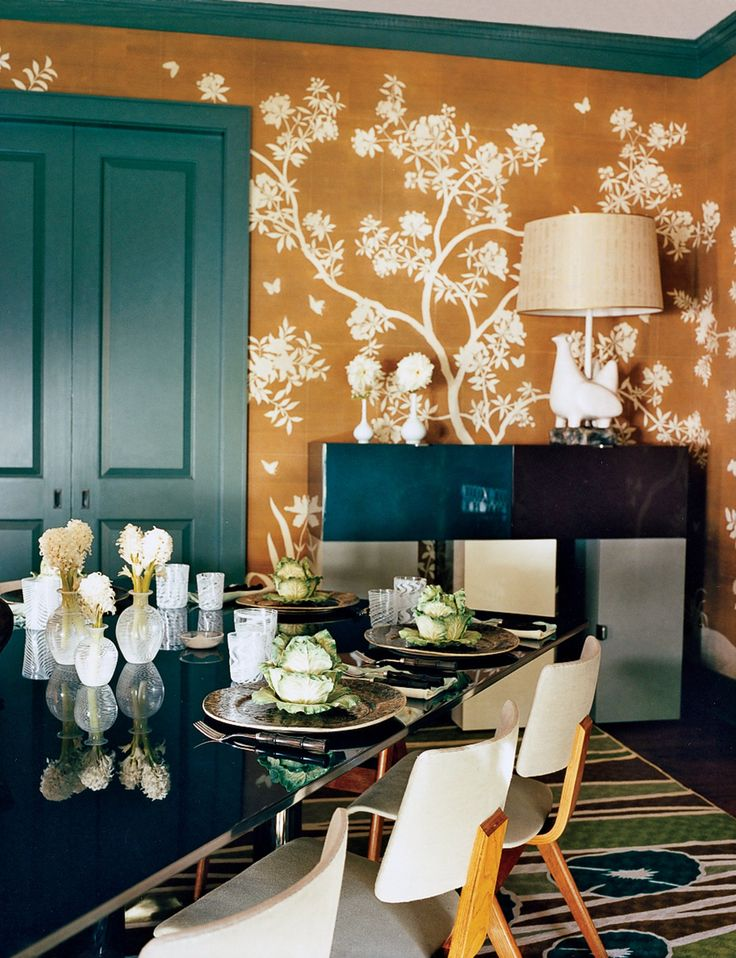 A Look At 30 Dining Rooms In