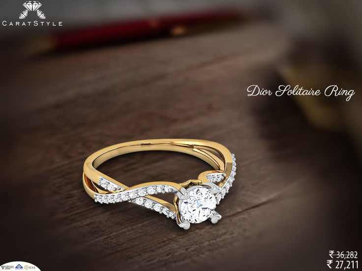 Work hard to shop harder…Dior solitaire ring.   #solitaire #diamond #ring  #diamondring #solitairering #ringforgirls #traditionalring #casualring #giftforher #diamondringforwomen