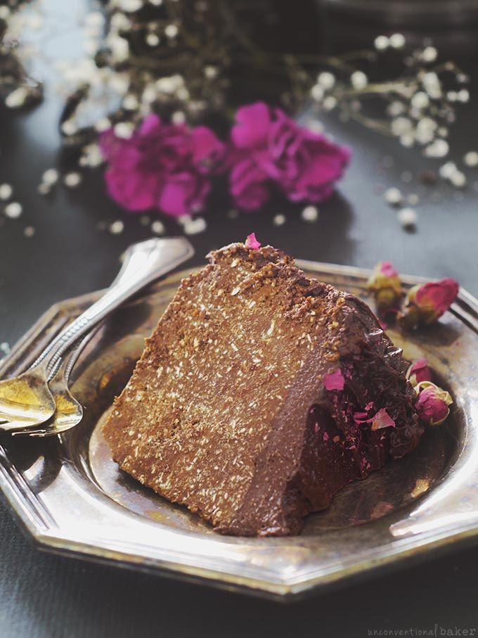 Vegan chocolate carrot cake recipe