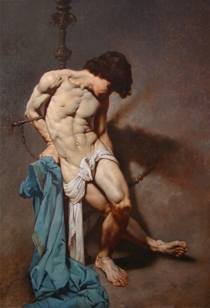 Saint Sebastian, Roberto Ferri (1978 - ): San Sebastiano, Art, Male Art, Saint Sebastian, Artist, Male Nude, Paintings