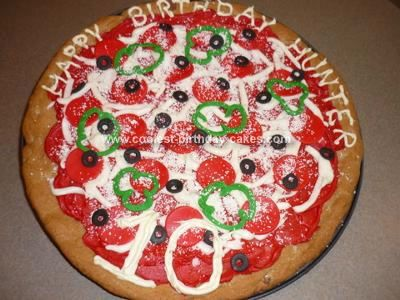 Cake Decorating Ideas Pizza : 25+ Best Ideas about Pizza Birthday Cake on Pinterest ...