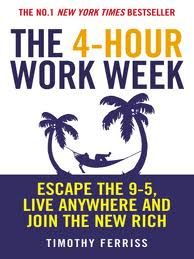 4 Hour Work Week by Tim Ferriss was first released in 2007 – with the tagline Escape the 9-5, live anywhere and join the New Rich, it sure made a big promise. Then hot on  heals of it's release the GFC arrived to shake the foundations of the international economy. Read more here...