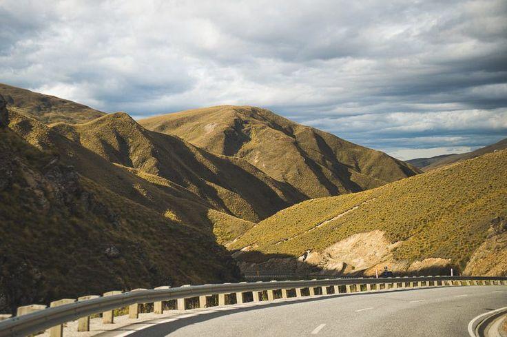Crown Range Road rolls into Cardrona Valley Road