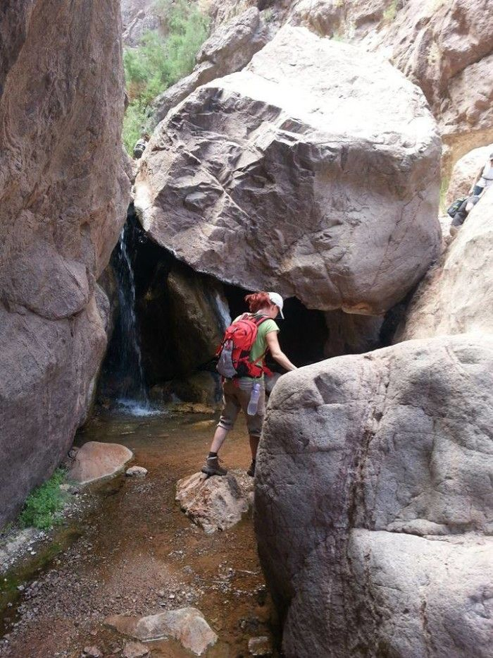 7. Goldstrike Canyon Hot Springs Trail