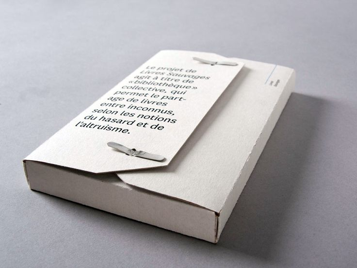 Self promotion idea. Just a really nice example of simple but impressive - borrow this idea for your own self promo kit