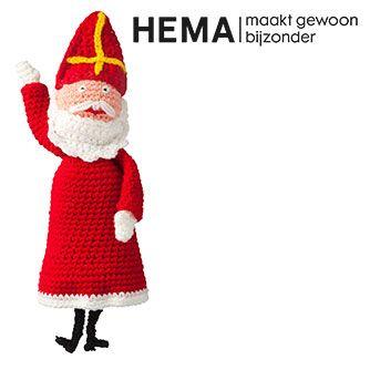 Zelf een Sinterklaas maken met haakkatoen