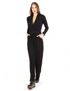 Black wrap front jumpsuits - 38 euros , sales