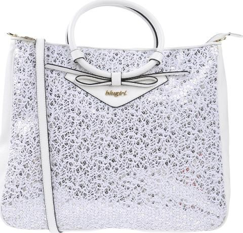 BLUGIRL BLUMARINE BAGS Handbags Women. medium lace faux leather solid colour bow detailing logo zip closure double handle internal pockets removable shoulder strap lined interior shopping bag#lace # #fashionforwomen #women #trend #occasionwear #womenfashion #stylish #luxury #luxuryfashion #Blugirl Blumarine #White #Handbags #Yoox #Women #fashion #obsessory #fashion #lifestyle #style #myobsession