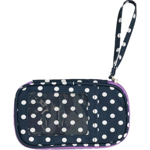 Love & Pineapples Women's Wristlet Navy/White - Locks And Travel Accessories at Academy Sports