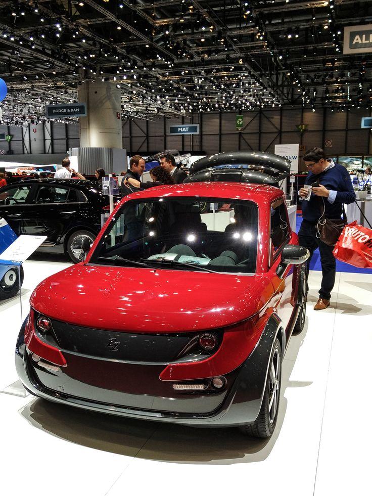 Zero EM2 Space at the 87th Geneva International Motor Show 2017! #Tazzari #EV #zeroemission #electricvehicles #zero #ZZ #electriccar #TazzariEV #tazzarielectric #Genevacarshow #genevacarshow2017 #gimsswiss #ginevra #motorshow