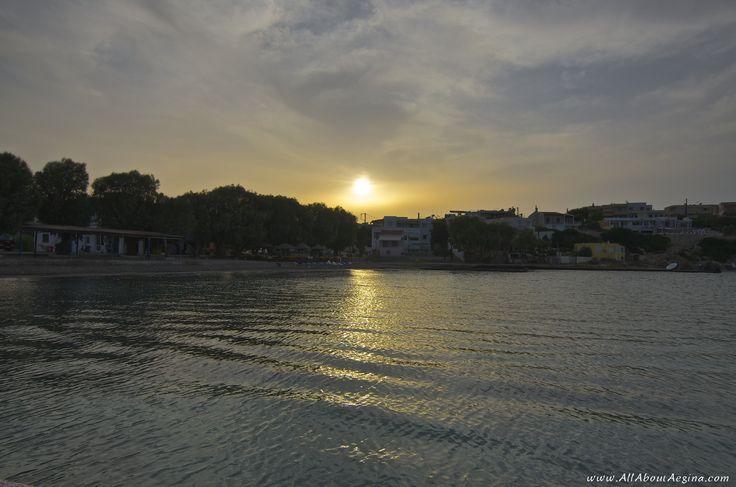 Sunset in Souvala, Aegina