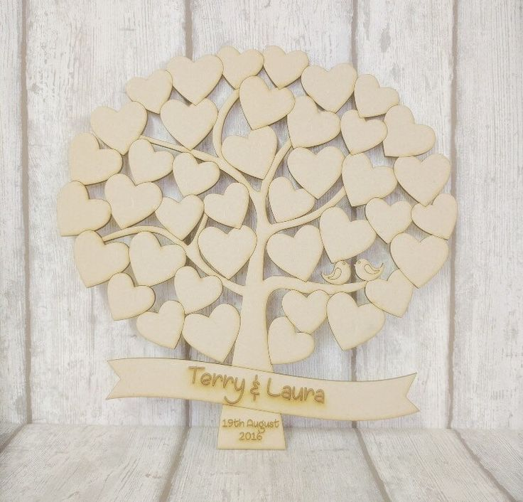 A personal favourite from my Etsy shop https://www.etsy.com/uk/listing/451257772/wedding-tree-wedding-guestbook