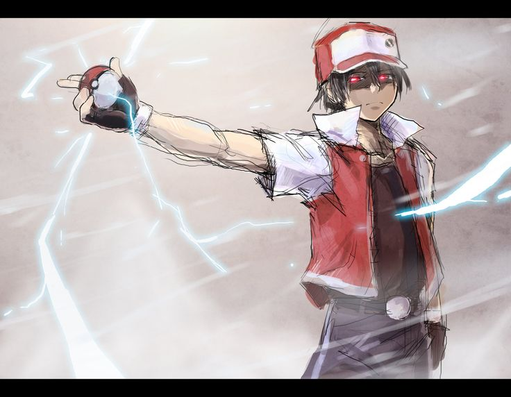 pokemon trainer red | Pokemon Master RED by moxie2D